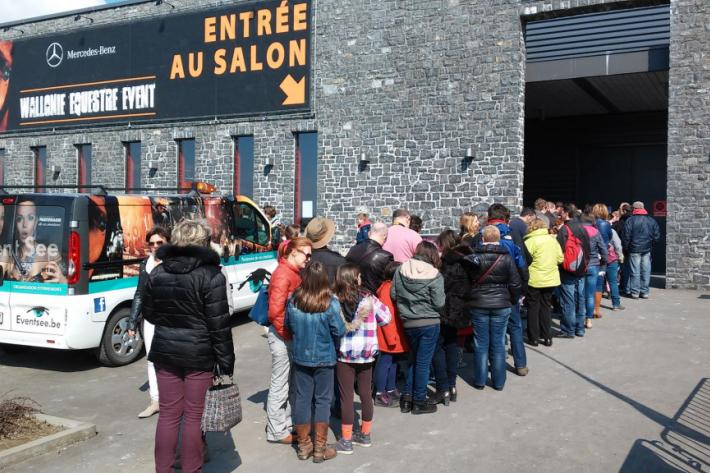 Wallonie Equestre Event (Crédit photo : Léquimag)