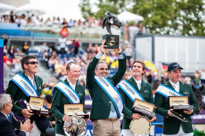 L'équipe irlandaise avait remporté la Finale 2010 (Photo : FEI / Lukasz Kowalski)
