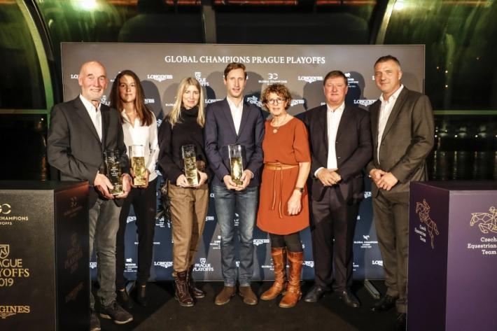 Les lauréats des GCL awards (Photo : Stefano Grasso / LGCT)