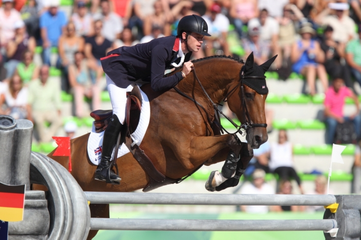 Scott Brash et Hello Sanctos (Photo : Christophe Bortels)