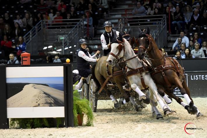 Glenn Geerts a remporté le bronze sur la finale de la Coupe du monde de Bordeaux (Crédit photo: Jumping de Bordeaux/Sportfot)