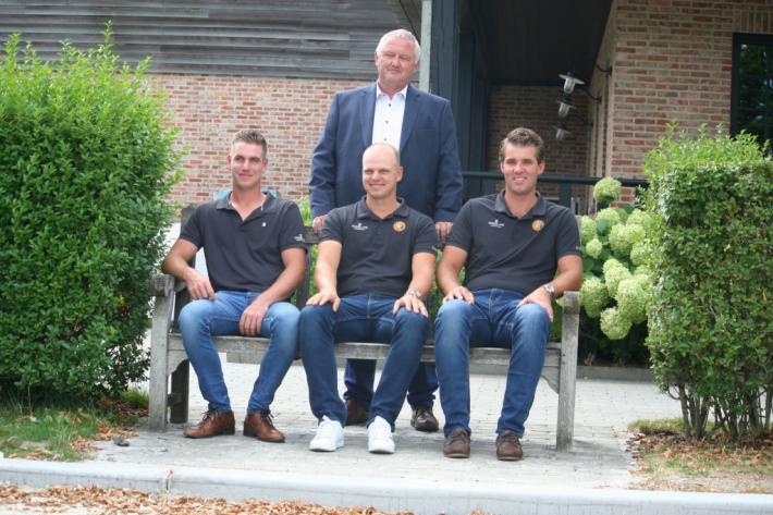 L'équipe belge pour le championnat d'Europe d'attelage de Donaueschingen (Crédit photo : Léquimag)