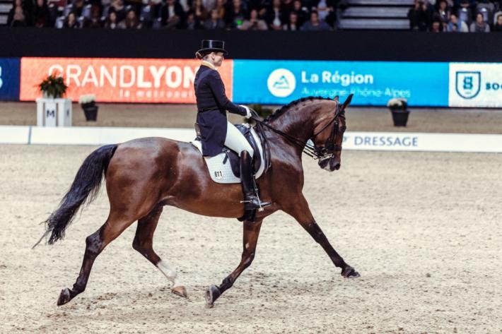 Isabell Werth et Emilio (Crédit photo : Christophe Tanière/FEI)