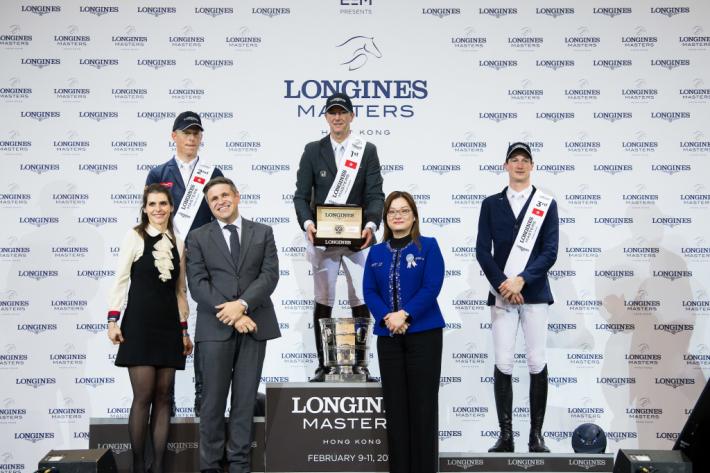 Le podium (Photo : PSI / EEM)
