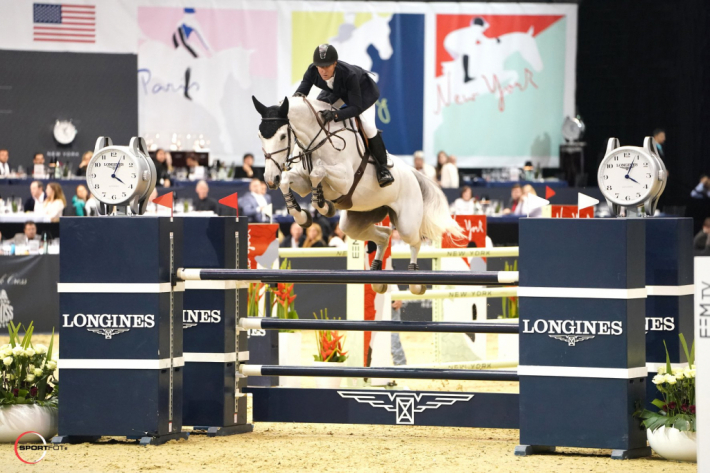 McLain Ward et Clinta (Photo : Sportfot / Longines Masters)