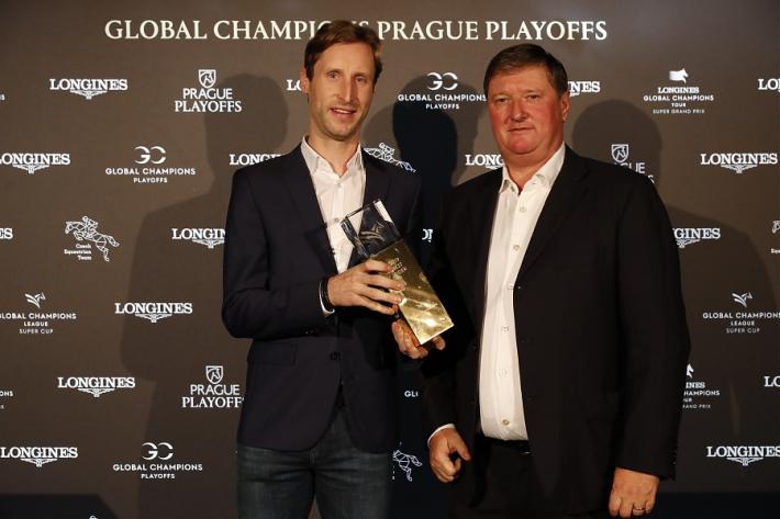Pieter Devos et Jan Tops, organisateur de la GCL (Photo : Stefano Grasso / LGCT)