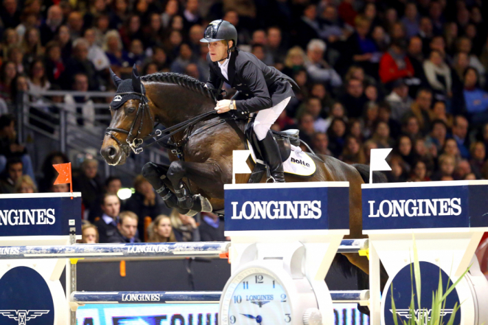 Marcus Ehning intègre le Top 3 (Photo : Pierre Costabadie/FEI)