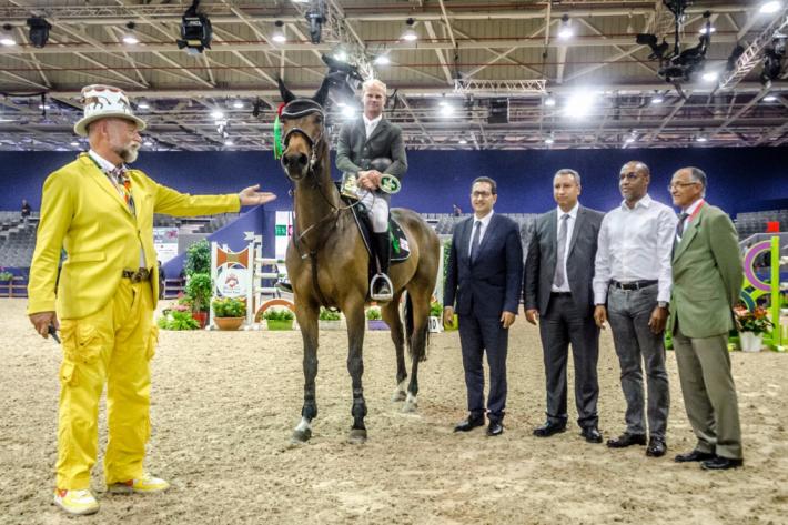 Jérôme Guéry vainqueur avec Jelly Belly van het Eikenhof (Crédit photo : Valentine Van den Eynde)