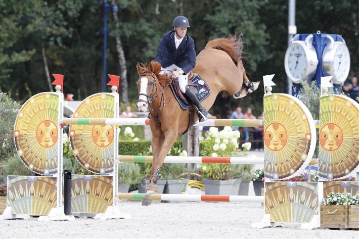 Niels Bruynseels et Lady Cracotte au GCT (Photo : Stefano Grasso / LGCT)