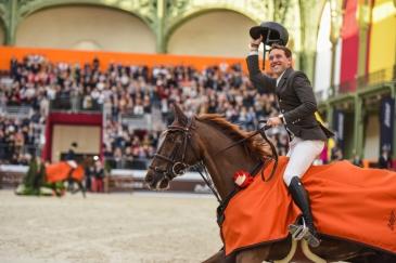 Simon Delestre et Hermès Ryan (Photo : HorseSystem-L.LJUBIC / Saut Hermès)