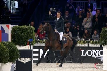 Grégory Wathelet et Eldorado (Crédit photo : Sportfot)