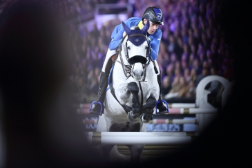 Christian Ahlmann et Clintrexo Z (Photo : Christophe Bortels)