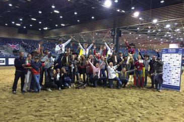 L'équipe belge a remporté le titre chez les jeunes cavaliers