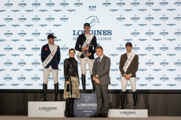 Le podium (Photo : Longines Masters Paris)