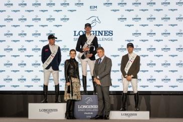 Le podium (Photo : Longines Masters Paris)