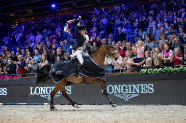 Edwina Tops-Alexander (Photo : Longines Masters)