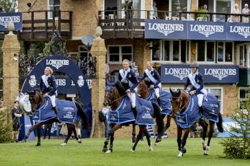 L'équipe suédoise (Photo : Liz Gregg/FEI)