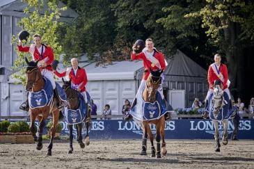 L'équipe belge (Photo : FEI / Liz Gregg)