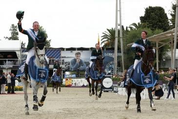 L'équipe irlandaise (Photo : FEI / Gonzalo Arroyo Moreno/Getty Images)