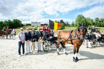 La Belgique a brillé au Haras du Pin (Crédit: DR/Facebook Equibel-FRBSE)
