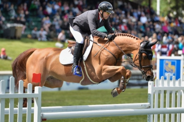Eric Lamaze et Chacco Kid (Photo : Spruce Meadows Media/Mike Sturk)