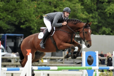 Sébastien Berlemont et Acrobate de l'Herse (Crédit photo : Photo Evénement)