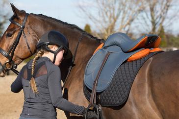 Avec son design innovant, cette selle espère améliorer le confort de tous. (Crédit : Bua Saddle)