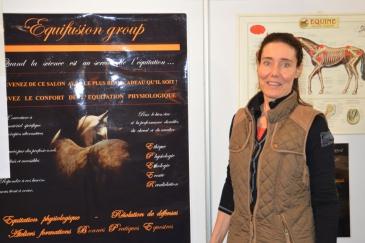 La vétérinaire Marianne Juvigné (Crédit photo : Gaëlle Colinet)