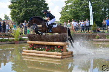 Michael Jung et Star Connection sur le cross (Crédit Photo: Event Rider Masters)