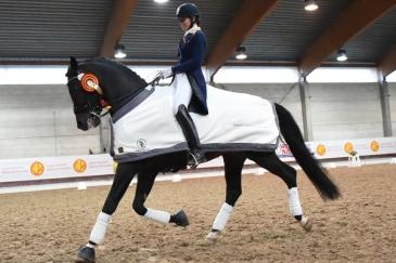 Sophie Van Lent-Baetens et Captain Jack (Crédit photo : www.nathaliegeerlandt.be)