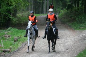 Elisa Arnould et Aurélie Wery (Crédit photo : L'équimag)