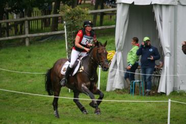 Karin Donckers et son cheval Fletcha van't Verahof (Crédit photo : L'équimag)