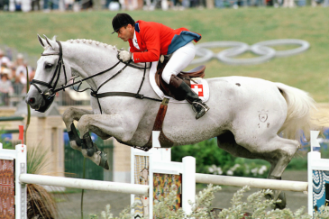 Willi Melliger et Calvaro (Photo :Jan Gyllensten AB/FEI)