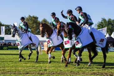 L'équipe britannique (Crédit photo : Eventing Photo/FEI)