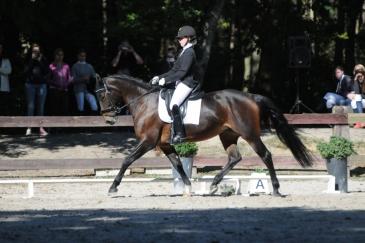 Ophélie Vanderroost et Tricolore Wisbecq (Crédit photo : Photo Evénement)