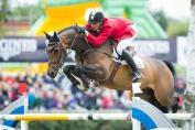 Grégory Wathelet et son cheval Forlap (Crédit photo : Christophe Bortels)