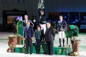 Le podium du Top 10 (Photo : IJRC)