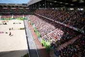 On ne connait pas encore le prochain hôte des Jeux équestres mondiaux après Caen en 2014 (Crédit photo : FEI / Arnd Bronkhorst)