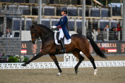 Charlotte Dujardin et Mount St John Freestyle à Windsor. (Crédit photo: Royal Windsor Horse Show)