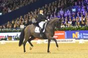 Isabell Werth et Weihegold victorieuses à Amsterdam. (Crédit phto; FEI/Digishots)