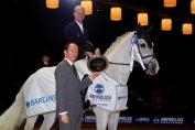 Jérôme Guéry et Alicante (Crédit photo : Madrid Horse Week)