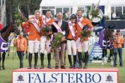 L'équipe néerlandaise (Crédit photo : FEI/Richard Juilliart)